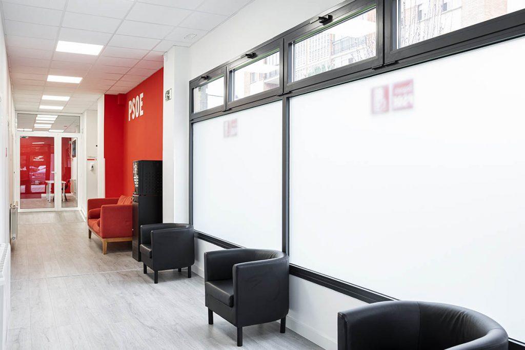 Sede PSOE Segovia Tecnicia Facility Solutions